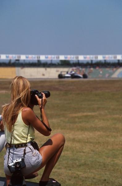 Talented photographer!!! German GP, Hockenheim, Germany, 29 July 1990