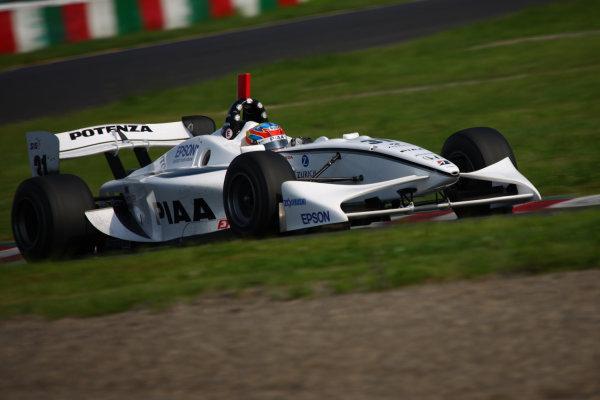 2009 Formula Nippon Championship.Suzuka, Japan. 11th - 12th July 2009.Rd5  - Winner Loic Duval ( #31 NAKAJIMA RACING ), action.World Copyright: Yasushi Ishihara/LAT Photographicref: Digital Image 2009FN_Rd5_003