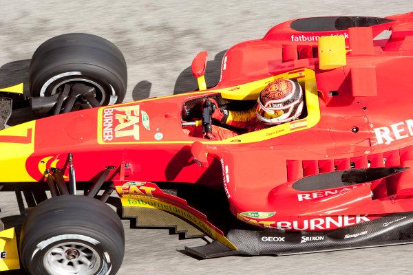 Jerez, Spain. Thursday 8th October. Dani Clos (ESP, Fat Burner Racing Engineering). Action.  World Copyright: Alastair Staley/ GP2 Series Media Service.Ref: _O9T7314 jpg