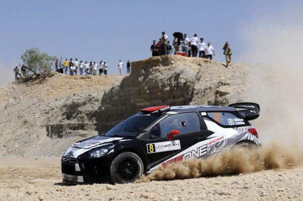 Kimi Raikkonen (FIN), Citroen DS3 WRC, on stage 10. World Rally Championship, Rd4, Rally Jordan, Dead Sea, Amman, Jordan, Day 2, Friday 15 April 2011.