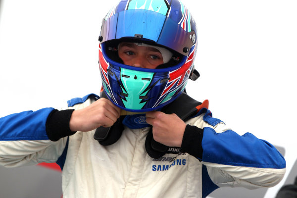 2017 British Formula 4 Championship, Donington Park, April 15th-16th 2017, Billy Monger (GBR) JHR Developments British F4 World Copyright. JEP/LAT Images