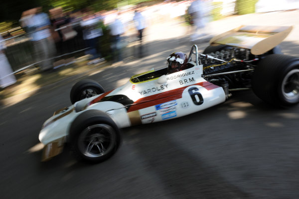 2015 Goodwood Festival of Speed 25th - 28th June 2015 BRM P153 Jackie Oliver World Copyright : Jeff Bloxham/LAT Photographic Ref : Digital Image