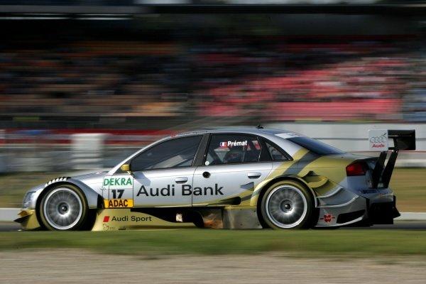 Alexandre Premat (FRA) Audi Sport  DTM, Rd 1, Hockenheim, Germany, Sunday 22 April 2007. DIGITAL IMAGE