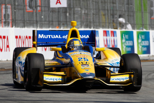 11-13 April, 2014, Long Beach, California USA Marco Andretti ©2014, Phillip Abbott LAT Photo USA
