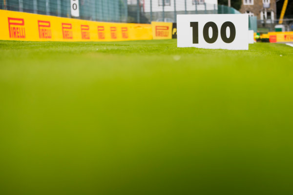 2017 FIA Formula 2 Round 8. Spa-Francorchamps, Spa, Belgium. Thursday 24 August 2017. A view of the track. Photo: Zak Mauger/FIA Formula 2. ref: Digital Image _56I0102