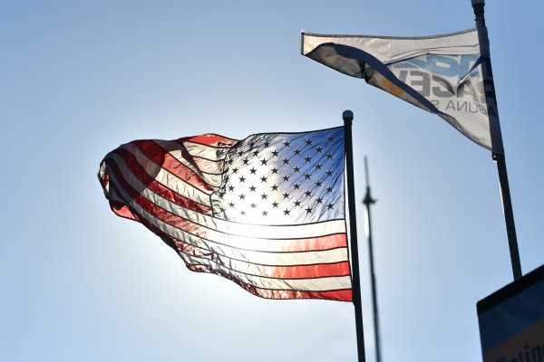 IMSA WeatherTech SportsCar Championship AMERICA'S TIRE 250 Mazda Raceway Laguna Seca Monterey, CA USA Sunday 24 September 2017 American Flag World Copyright: Richard Dole LAT Images ref: Digital Image RD_LS_17_300