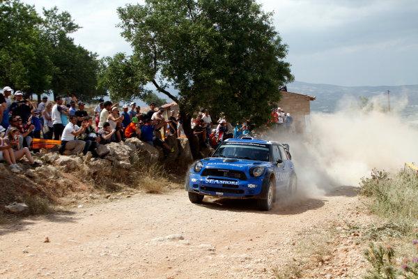 Round 06 - Rally Acropolis Greece. 24-27 May 2012. Abdulaziz Alkuwari, Mini WRC, Action. Worldwide Copyright: McKlein/LAT