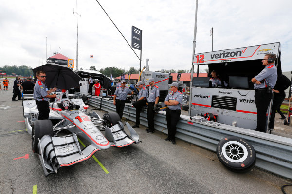 Verizon IndyCar Series Honda Indy 200 at Mid-Ohio Mid-Ohio Sports Car Course, Lexington, OH USA Friday 28 July 2017 Will Power, Team Penske Chevrolet World Copyright: Phillip Abbott LAT Images ref: Digital Image abbott_midohio_0717_0074