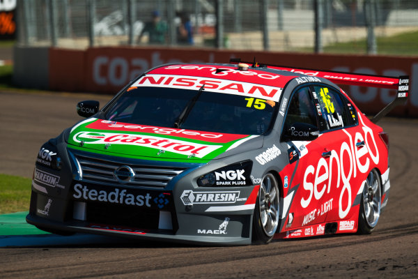 2017 Supercars Championship Round 7.  Townsville 400, Reid Park, Townsville, Queensland, Australia. Friday 7th July to Sunday 9th July 2017. Rick Kelly drives the #15 Sengled Racing Nissan Altima. World Copyright: Daniel Kalisz/ LAT Images Ref: Digital Image 070717_VASCR7_DKIMG_338.jpg