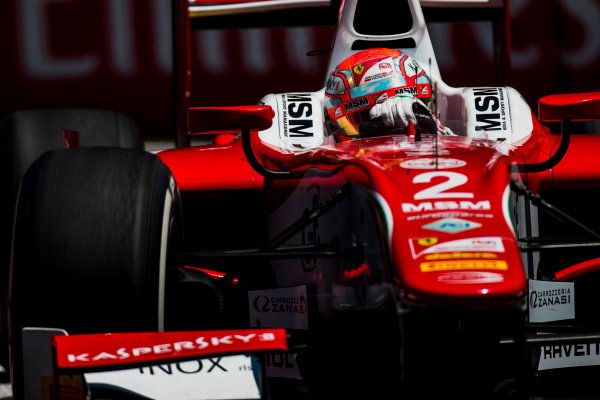 2017 FIA Formula 2 Round 4. Baku City Circuit, Baku, Azerbaijan. Friday 23 June 2017. Antonio Fuoco (ITA, PREMA Racing)  Photo: Zak Mauger/FIA Formula 2. ref: Digital Image _54I0273