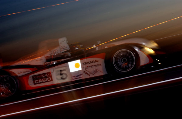 2004 Le Mans 24 Hours.Le Mans, France. 12th-13th June 2004.Ara/Capello/Kristensen (Team Goh Audi R8) action.World Copyright: Jeff Bloxham/LAT Photographicref: Digital Image Only