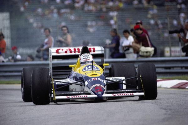 Nigel Mansell, Williams FW12 Judd.