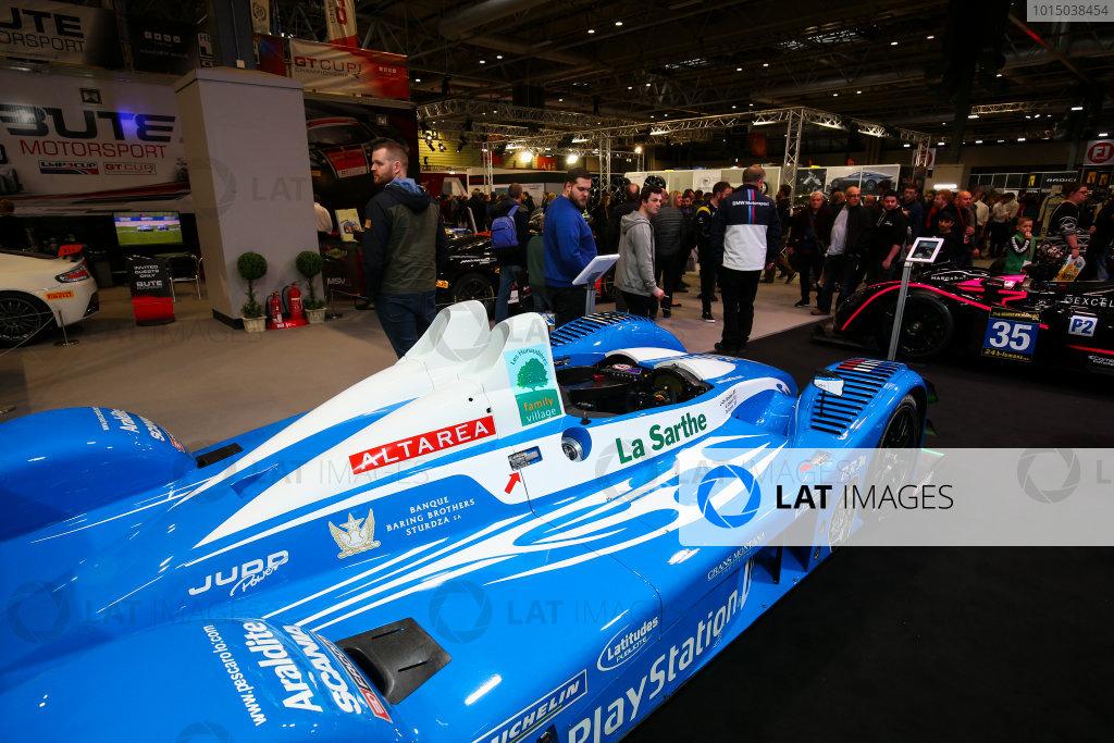 Autosport International Exhibition. National Exhibition Centre, Birmingham, UK. Sunday 14th January 2018. Le Mans cars on display.World Copyright: Mike Hoyer/JEP/LAT Images Ref: AQ2Y9846