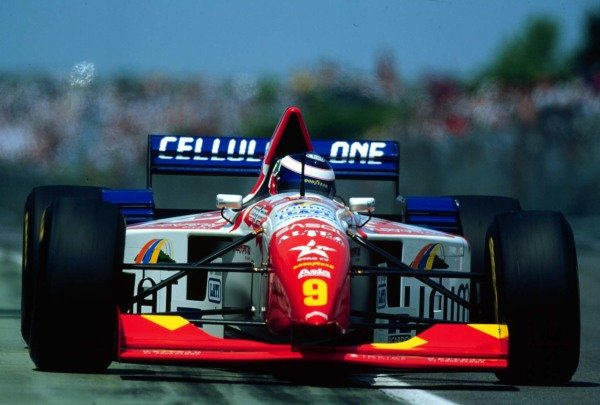 1995 Canadian Grand Prix.Montreal, Quebec, Canada.9-11 June 1995.Gianni Morbidelli (Footwork FA16-Ford) 6th position.World Copyright - LAT Photographic