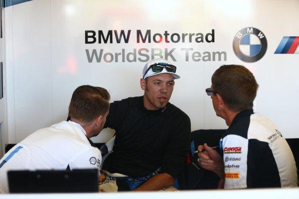 Peter Hickman, BMW Motorrad WorldSBK Team.