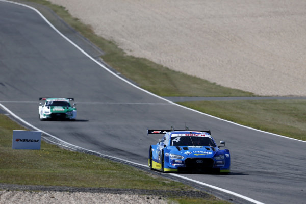 Robin Frijns, Audi Sport Team Abt Sportsline, Audi RS5 DTM leads.