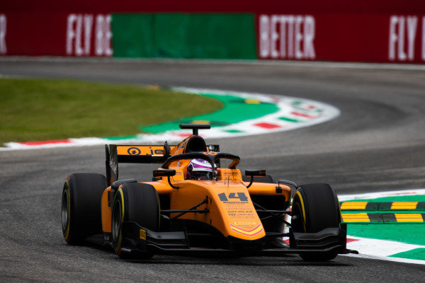 AUTODROMO NAZIONALE MONZA, ITALY - SEPTEMBER 06: Marino Sato (JPN, CAMPOS RACING) during the Monza at Autodromo Nazionale Monza on September 06, 2019 in Autodromo Nazionale Monza, Italy. (Photo by Joe Portlock / LAT Images / FIA F2 Championship)