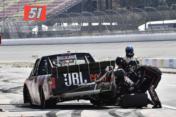 #4: Todd Gilliland, Kyle Busch Motorsports, Toyota Tundra JBL