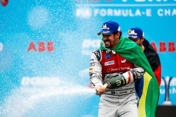 Lucas Di Grassi (BRA), Audi Sport ABT Schaeffler, Audi e-tron FE04, in 2nd place.