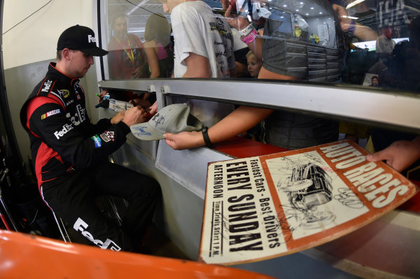 30 June-2 July, 2016, Daytona Beach, Florida USA Denny Hamlin, FedEx Toyota Camry ?2016, Nigel Kinrade LAT Photo USA