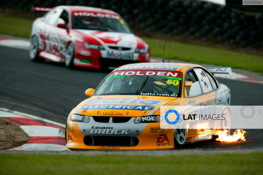 2003 Australian V8 Supercar ChampionshipPhillip Island, Australia 13th April 2003Holden driver Jason Bright in action during the 300km race at round 2 of the V8 Supercars at Phillip Island Australia. Bright finished second behind Craig Lowndes.World Copyright: Mark Horsburgh/LAT Photographicref: Digital Image Only