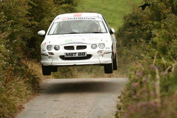 2006 British Rally Championship,Manx Rally, Isle of Man, 3rd-5th August 2006,Matt Beebe, World copyright: Ebrey/LAT Photographic.