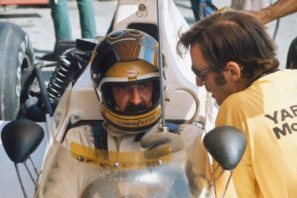 1974 Austrian Grand Prix  Osterreichring, Austria. 16-18th August 1974.  David Hobbs, McLaren M23 Ford, 7th position.  Ref: 74AUT10. World Copyright: LAT Photographic