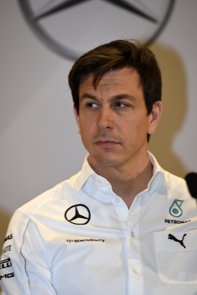 Toto Wolff (AUT) Mercedes AMG F1 Director of Motorsport.