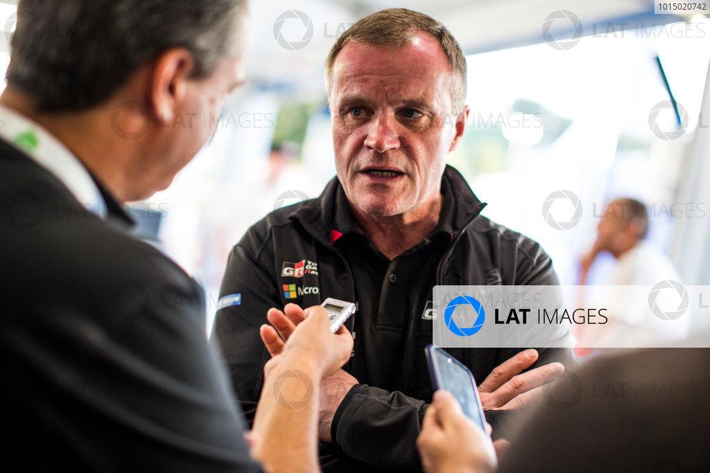 2017 FIA World Rally Championship, Round 13, Rally Australia 2017, 16-19 November 2017, Tommi Makinen, Toyota, portrait, Worldwide Copyright: LAT/McKlein