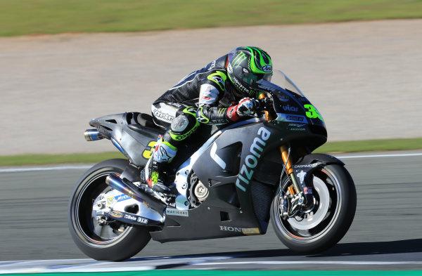 2017 MotoGP Championship - Valencia test, Spain. Tuesday 14 November 2017 Cal Crutchlow, Team LCR Honda World Copyright: Gold and Goose / LAT Images ref: Digital Image 706854
