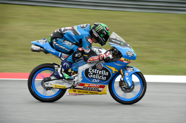 2017 Moto3 Championship - Round 17 Sepang, Malaysia. Friday 27 October 2017 Enea Bastianini, Estrella Galicia 0,0 World Copyright: Gold and Goose / LAT Images ref: Digital Image 25061