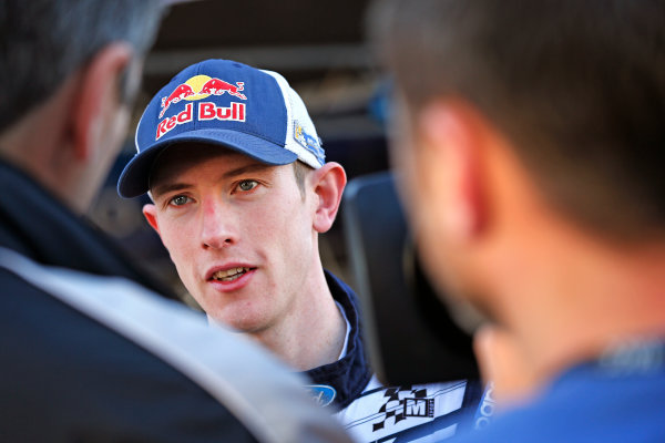 2015 World Rally Championship  Round 12, Rally of Spain, Catalunya 22nd - 25th October, 2015 Elfyn Evans, Ford, portrait  Worldwide Copyright: McKlein/LAT
