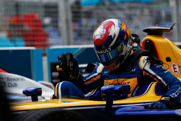 FIA Formula E Championship 2015/16. Beijing ePrix, Beijing, China. Sebastien Buemi (SUI), Renault e.Dams Z.E.15  Race Beijing, China, Asia. Saturday 24 October 2015 Photo: Sam Bloxham / LAT / FE ref: Digital Image _SBL7837