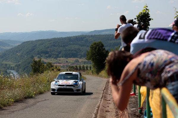 2013 FIA World Rally Championship Round 09-Rally Germany 21-25/8 2013. Sebastien Ogier, VW, Action  Worldwide Copyright: McKlein/LAT