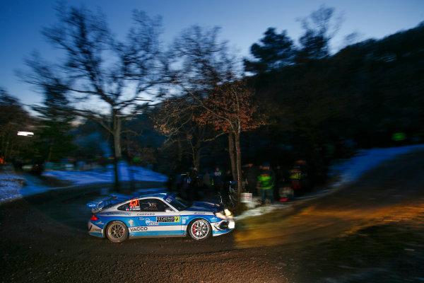 2017 FIA World Rally Championship,  Round 01, Rally Monte Carlo,  January 18-22, 2017,  Romain Dumas/Gilles de Turckheim (Porsche 911) Worldwide Copyright: McKlein/LAT
