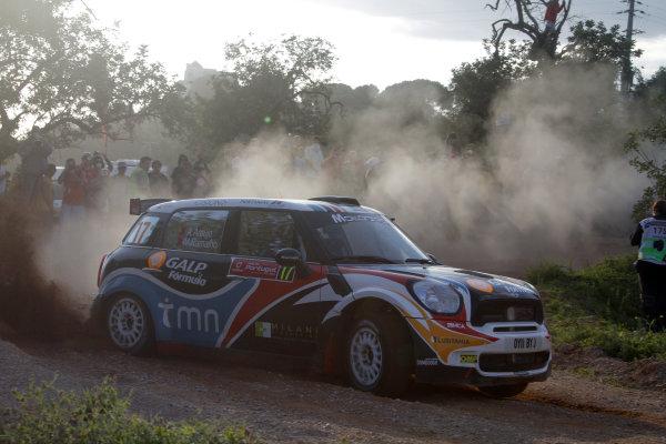 Round 03-Rally Portugal. 23th-27th March 2011.Armindo Araujo, Mini S2000, Action.Worldwide Copyright: McKlein/LAT