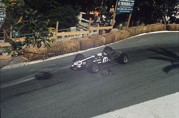 Monte Carlo, Monaco. 23-26 May 1968. Dan Gurney (Eagle T1G Weslake). Ref: 68MON05. World Copyright - LAT Photographic