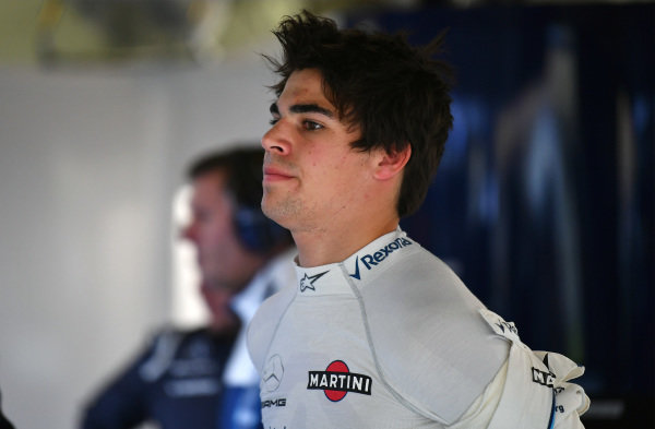 Lance Stroll (CDN) Williams at Formula One World Championship, Rd2, Chinese Grand Prix, Practice, Shanghai, China, Friday 7 April 2017.