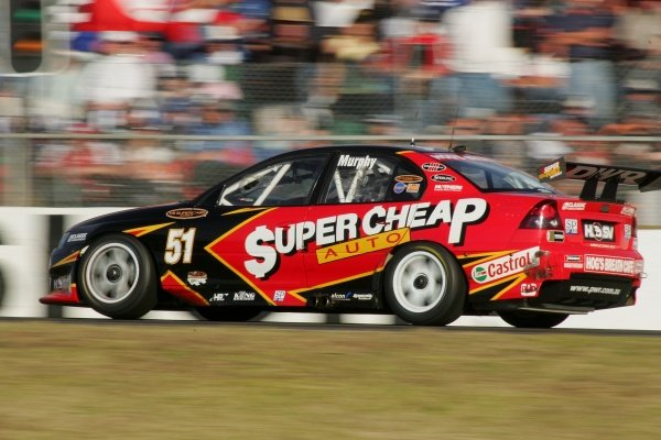 Greg Murphy (NZL) Supercheap Holden Commodore recovered from a poor quailfying spot to finish 3rd overall.