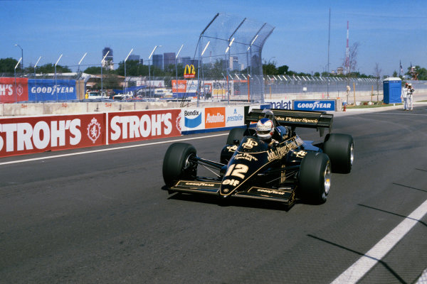 Detroit, Michigan, USA. 22nd - 24th June 1984.