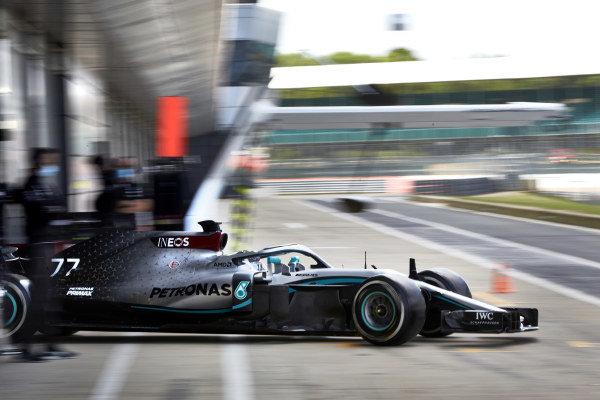 Valtteri Bottas, Mercedes F1 W09.