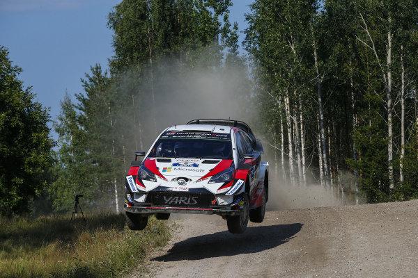 Ott Tanak flying Estonian in Finland