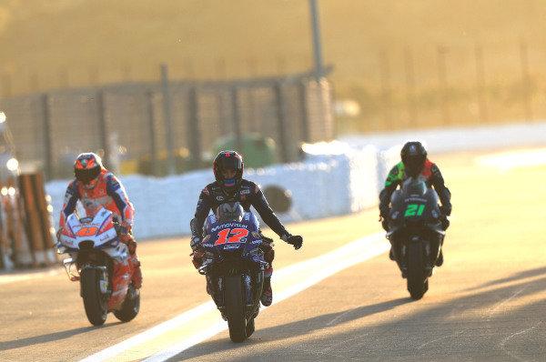 Maverick Viñales, Yamaha Factory Racing.