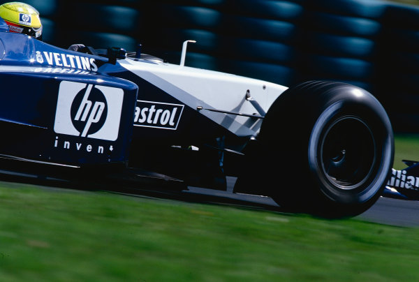 2002 Hungarian Grand Prix.Hungaroring, Budapest, Hungary. 16-18 August 2002.Ralf Schumacher (Williams FW24 BMW) 3rd position.Ref-02 HUN 13.World Copyright - Tee/LAT Photographic
