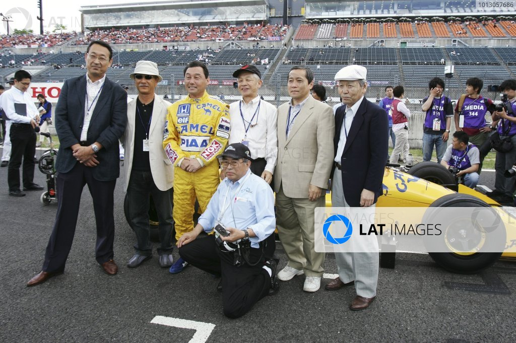 2007 Formula Nippon ChampionshipTwinring Motegi, Japan.19th - 20th May 2007Satoru Nakajima, Lotus Honda 100T, demonstration. Portrait. World Copyright: Yasushi Ishihara/LAT Photographicref: Digital Image 2007_FN_Rd3_022