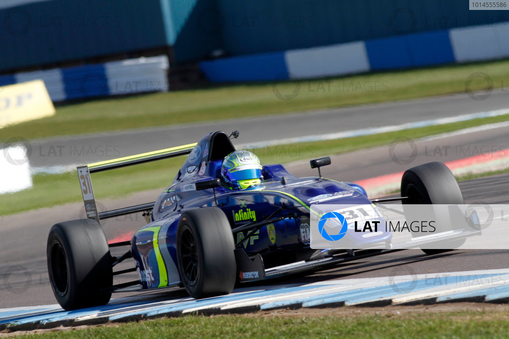 2016 MSA Formula Donington Park, 16th-17th April 2016, Max Fewtrell (GBR) Carlin MSA Formula  World copyright. Jakob Ebrey/LAT Photographic
