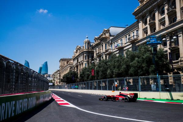 2017 FIA Formula 2 Round 4. Baku City Circuit, Baku, Azerbaijan. Friday 23 June 2017. Nobuharu Matsushita (JPN, ART Grand Prix)  Photo: Zak Mauger/FIA Formula 2. ref: Digital Image _54I9466