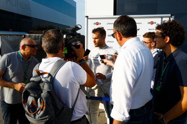 Hungaroring, Budapest, Hungary.  Wednesday 02 August 2017. Luca Ghiotto, Williams FW40 Mercedes. World Copyright: Joe Portlock/LAT Images  ref: Digital Image _R3I8542