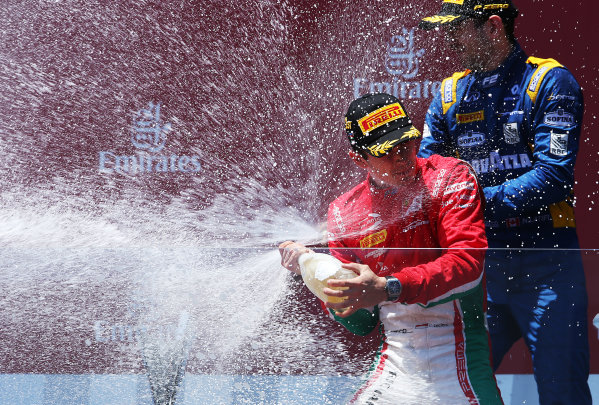 2017 FIA Formula 2 Round 4. Baku City Circuit, Baku, Azerbaijan. Saturday 24 June 2017. Charles Leclerc (MCO, PREMA Racing)  Photo: Charles Coates/FIA Formula 2. ref: Digital Image AX0W9622