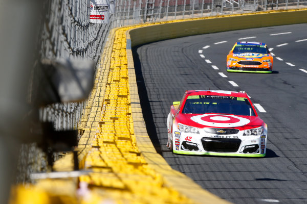 Monster Energy NASCAR Cup Series Bank of America 500 Charlotte Motor Speedway, Concord, NC Friday 6 October 2017 Kyle Larson, Chip Ganassi Racing, Target Chevrolet SS World Copyright: Lesley Ann Miller LAT Images